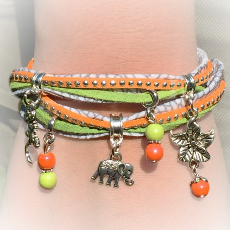 Kit bracelet  Jungle