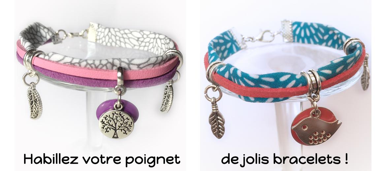 Kits bracelets pour embellir votre poignet.
